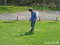 除草剤を散布