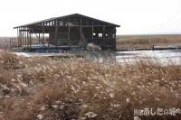 解体中のレストハウス