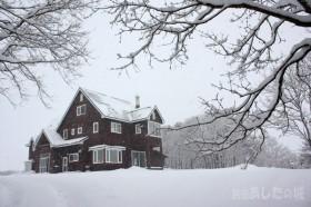 積もった雪とあしたの城