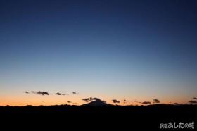 夜になる直前の空