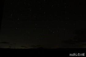 初めての星空撮影