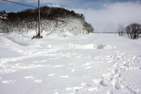 444号線除雪前