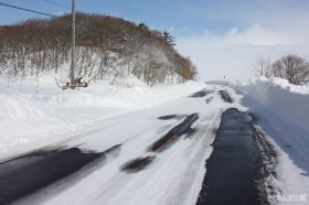 444号線除雪後