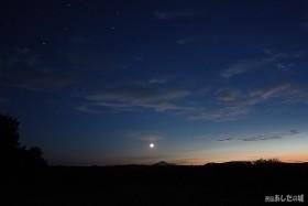 夕方と夜の間