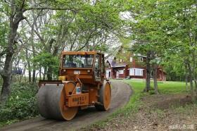 簡易舗装の補修