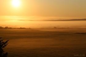 幻想的な霧