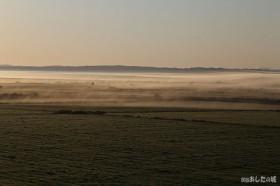 霧が晴れてきて…