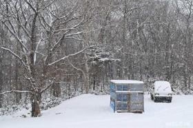 除雪機小屋