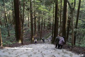 金堂への石段