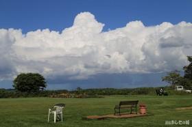 迫力ある雲