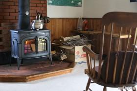 焚き付けの柴