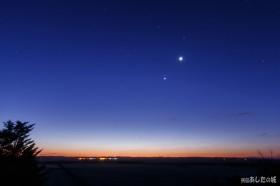 夜明け前の惑星