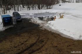 駐車場の除雪01