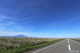 秋の道道106号線