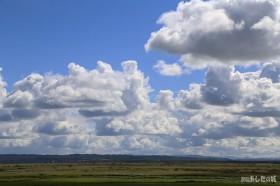 サロベツ原野と雲