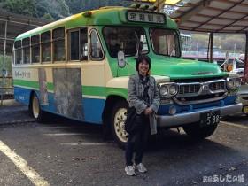 祖谷渓ボンネット定期観光バス
