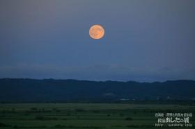 昨日の月の出