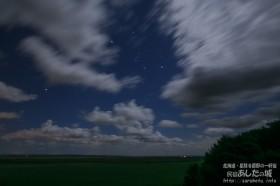 雲間からオリオン座