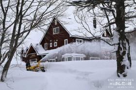 まずは私道の除雪