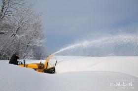 除雪と利尻