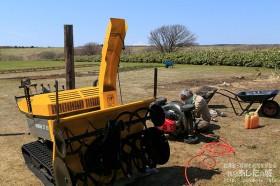 除雪機と芝刈り機のメンテナンス